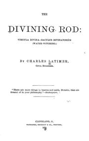 Cover of: The divining rod