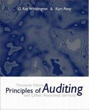 Cover of: Principles of Auditing and Other Assurance Services | Ray Whittington