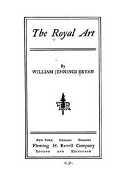 Cover of: The royal art