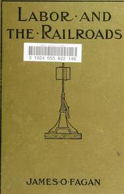 Cover of: Labor and the railroads