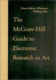Cover of: The McGraw-Hill guide to electronic research in art