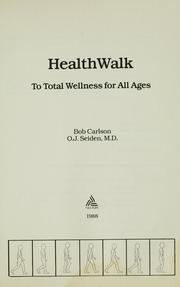 HealthWalk by Bob Carlson