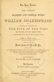 The complete dramatic and poetical works of William Shakespeare by William Shakespeare