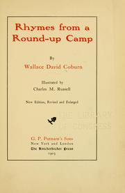 Cover of: Rhymes from a Round-up camp