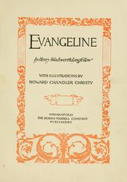 Cover of: Evangeline by Henry Wadsworth Longfellow