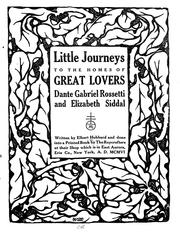 Cover of: Little journeys to the homes of great lovers