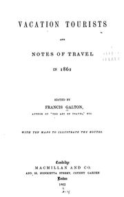 Cover of: Vacation tourists and notes of travel in 1860
