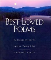 Cover of: Best Loved Poems | Patricia A. Pingry
