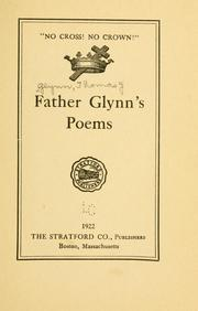 Cover of: Father Glynn