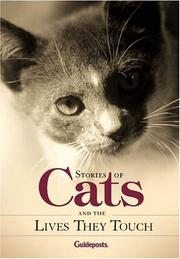 Cover of: Stories About Cats and the Lives They Touch | Peggy Shaefer