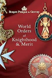 Cover of: World orders of knighthood and merit
