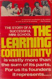 Cover of: The Learning Community