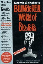 Cover of: Blunderful World of Bloopers | Kermit Schafer