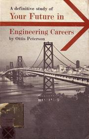 Cover of: Your future in engineering careers