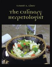 Cover of: Culinary Herpetologist | Ernest A. Liner