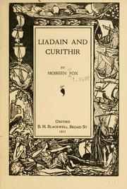Cover of: Liadain and Curithir by Moirin Cheavasa
