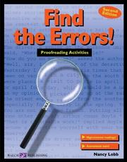 Cover of: Find the Errors!