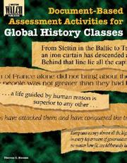 Cover of: Document-Based Assessment Activities for Global History Classes (Document-Based Assessment Activities for History) | Theresa C. Noonan