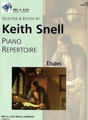 Cover of: Piano Repertoire 10 - Etudes (Kjos Piano Library, Level 10) |
