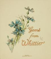 Cover of: Gems from Whittier