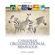 Cover of: Canadian organizational behaviour