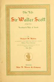 Cover of: The life of Sir Walter Scott: abridged from Lockhart's Life of Scott