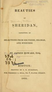 Cover of: The beauties of Sheridan