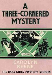 Cover of: A three-cornered mystery
