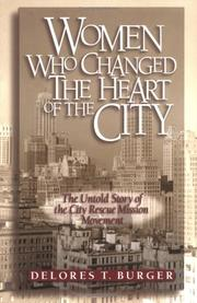 Cover of: Women who changed the heart of the city