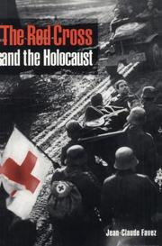 Cover of: The Red Cross and the Holocaust