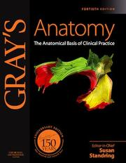 Cover of: Gray's Anatomy | Susan Standring