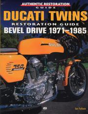 Cover of: Ducati twins restoration guide | John Harold Haynes