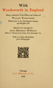 Cover of: With Wordsworth in England | William Wordsworth