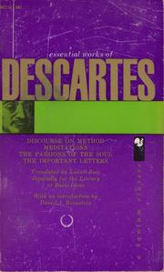 Cover of: Essential works of Descartes