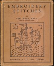 Cover of: Embroidery Stitches | Vera Willis