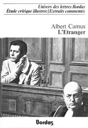 L' étranger by Albert Camus
