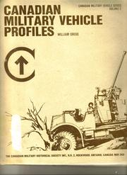 Cover of: Canadian military vehicle profiles |