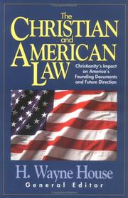Cover of: Christian and American Law, The