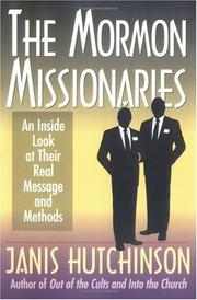 Cover of: The Mormon missionaries