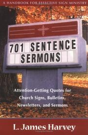 Cover of: 701 sentence sermons