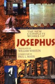 Cover of: The New Complete Works of Josephus