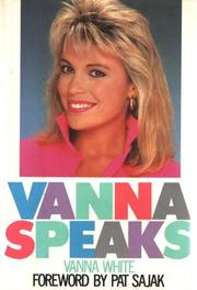 Cover of: Vanna speaks