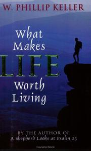 Cover of: What Makes Life Worth Living