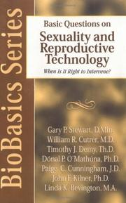 Cover of: Basic questions on sexuality and reproductive technology |