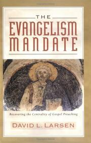 Cover of: The evangelism mandate