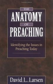 Cover of: The anatomy of preaching