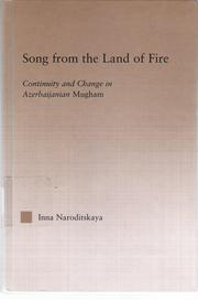 Cover of: Song from the land of fire | Inna Naroditskaya