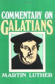 Cover of: Commentary on Galatians