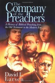 Cover of: The company of the preachers