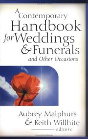 Cover of: A contemporary handbook for weddings & funerals and other occasions